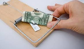 деньги в мышеловке
